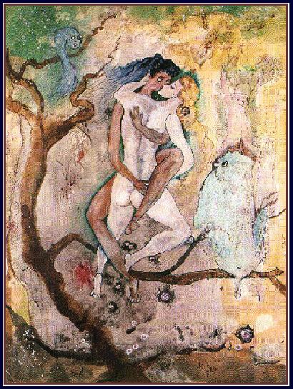 Couple dans un arbre copie
